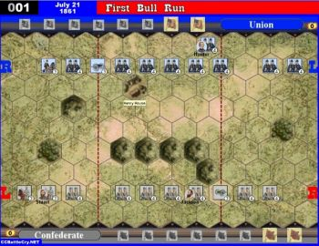 001 First Bull Run, Virginia - July 21, 1861