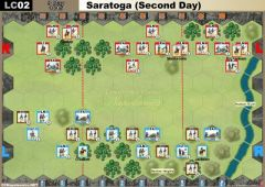 LC02 Saratoga - Second Day (9 May 1815)