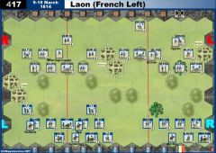 417 Laon - French Left (9&10 March 1814)