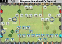 319 Wagram - Macdonald's Square (6 July 1809)