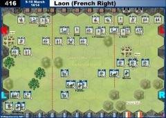 416 Laon - French Right (9&10 March 1814)
