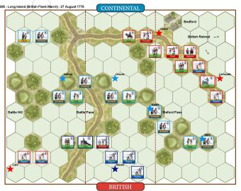 006 Long Island - British Flank March (27 August 1776)