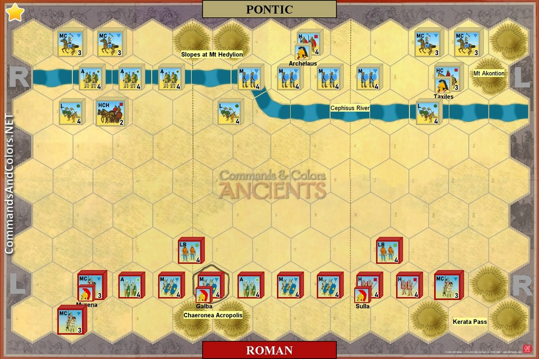 DG04 Chaeronea (86 BC) - Ancients - Commands and Colors System on rome total realism, rome total war scipii strategy, rome 2 emperor edition, rome greek wars, rome total war alexander factions, rome total war game, rome total war faction strategy, rome total war heaven, rome total war custom maps, rome 2 interactive map, rome total war unit guide, rome total war 3, rome 2 on sale, rome 2 strategy guide, rome total war building guide, rome 2 battle map, rome total war map editor, rome total war city map,