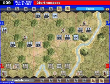 009 Murfreesboro, Tennessee (1st day of battle) - Dec. 31-Jan. 2, 1863