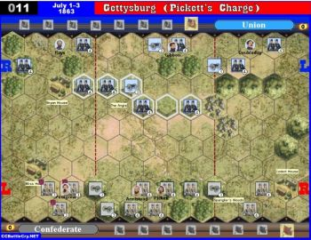 011 Gettysburg, Pennsylvania (Pickett's Charge) - July 1-3, 1863