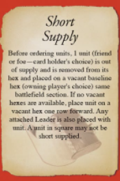 Short Supply