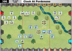 306 Clash At Pordenone (15 April 1809)