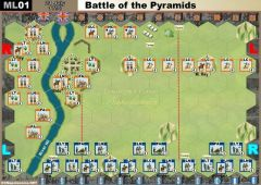 ML01 Battle of the Pyramids (21 July 1798)