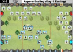 316 Aspern-Essling - Day 1 Essling (21 May 1809)