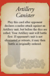 Artillery Canister