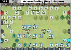 315 Aspern-Essling - Day 1 Aspern (21 May 1809)