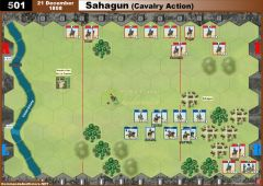 501 Sahagun - Cavalry Action (21 December 1808)