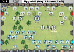 312 Eggmühl - Day 2 French Left (22 April 1809)