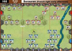 502 Sorauren - French right early afternoon (28 July 1813)