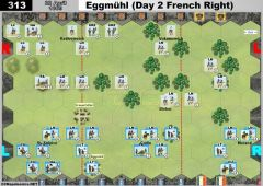 313 Eggmühl - Day 2 French Right (22 April 1809)