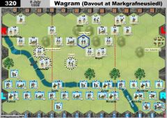 320 Wagram - Davout at Markgrafneusiedl (6 July 1809)