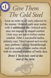 Give Them The Cold Steel