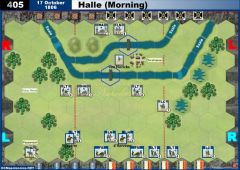 405 Halle - Morning (17 October 1806)