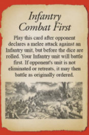 Infantry Combat First