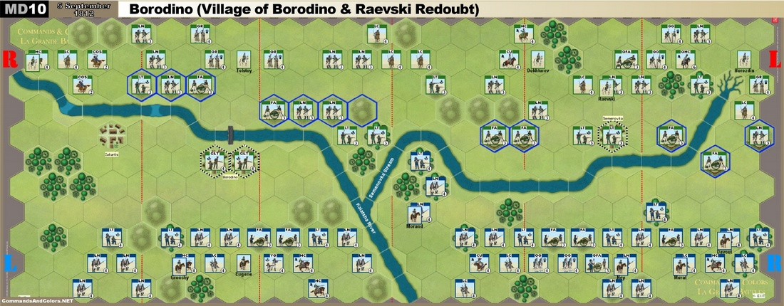 MD10 Borodino - Village of Borodino & Raevski Redoubt -