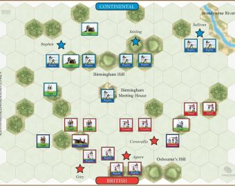 103 Brandywine - British Flank Attack (11 September 1777)