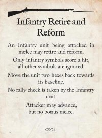 Infantry Retire and Reform