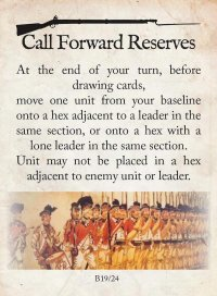 Call Forward Reserves