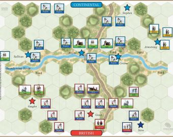 102 Brandywine - Washington's Attack (11 September 1777)